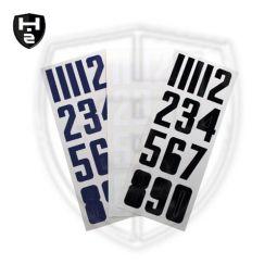 Bauer Helm Nummern