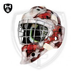 Bauer NME 4 Maske Red Wall
