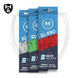 Blue Sports XL Schnürsenkel - extra breit - ungewachst