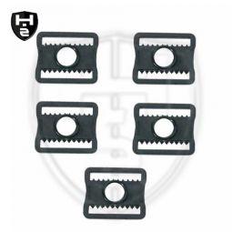 Goalie Maske Plastik Buckles 5er Set