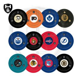 Hockeyzeug Green Biscuit NHL Puck