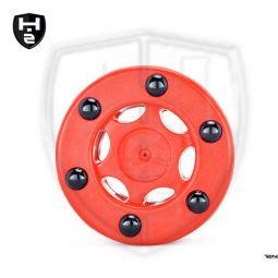 Hockeyzeug Noppenpuck rot
