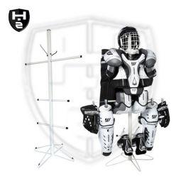 Trockenständer für Eishockeyausrüstung