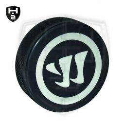 Warrior Logo Puck